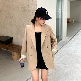 Wholesale bomb jacket resale online – lVL0V arqlU early autumn design suit casual street bombing and suit women s autumn hot daily jacket list jacket wear small match Collect
