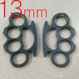 Ring DICKE 13 mm Dicke Schwere Stahl Messing Schlagring Selbstverteidigung Werkzeug Messingknöchels Kupplungs 1pc im Angebot