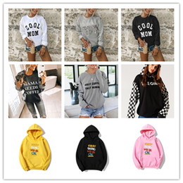 Mulheres Carta High Fashion T-shirt Primavera Outono Designer Crew Neck Ladies Tees Casual Tops solto Feminino manga comprida