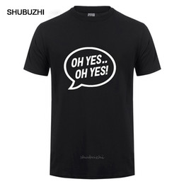 Wholesale mens rave clothing online – design HIP HOP MEN CLOTHES OH YES OH YES PRINTED MENS MUSIC SLOGAN T SHIRT CARL COX SPACE TECHNO RAVE T SHIRT