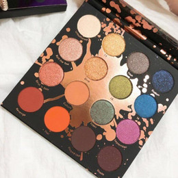 full makeup box Australia - Hot sale SHAYLA X Colourpop Makeup PERCEPTION Shadows 16 Matte Colors Brand New in box Eyes Cosmetics free shipping