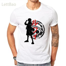 luffy clothing Australia - One Piece Pirate King T-Shirt Men Women T Shirt Mens Luffy Tshirt Summer Tees Japanese Anime Cotton Short Sleeve Tops Clothing