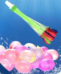 Опт 111Psc Красочные воды Заполненный шары Летние Дети Garden Party на открытом воздухе играть в игры в воде Детские игрушки Fast Easy завалки воды 08