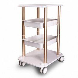 cart frame Australia - Assembled Steel Frame Trolley Cart Stand Tray For HIFU Face Lifting Fractional RF Ultrasonic Cavitation Slimming Salon Spa Use Machine SGJC#
