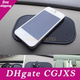 sticky phone holder for car Australia - Car Anti -Slip Dashboard Sticky Pad Mat For Phone Glasses Magic Sticky Gel Pads Holder Auto Interior Silicone Mat In Car Accessory Wx9 -1236
