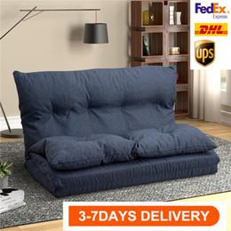 US-Aktien 3-5 Tage Liefer US Auf Fußboden Couch und Sofa Qualitäts-Gewebe Folding Chaise Lounge-Sofa-Stuhl PP019425QAA im Angebot