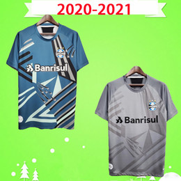 brazil blue uniform UK - 2020 2021 goalkeeper Gremio Paulista Soccer Jerseys EVERTON LUAN brazil home away 20 21 Football shirts Brasil KANNEMANN LUAN uniforms