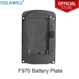 field monitors NZ - Battery Plate for Feelworld FW760 FW759 FW1018S A737 Etc Camera Field Monitors and F970 F960