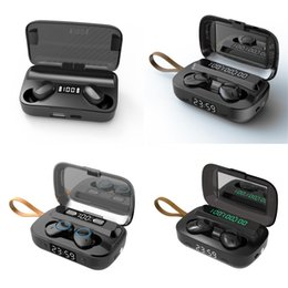 i7 plus ear phones Canada - I7 Mini TWS Wireless Bluetooth Earphone Double Earbuds With Charger Dock Stereo Headphone For IPhone Xs 8 7 Plus S9 Plus Android#769