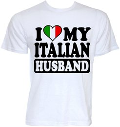 italy flags Australia - Mens Funny Cool Novelty Sexy Italian Husband Italy Flag Joke Fun Slogan T-Shirts O Neck T Shirts Sleeves Boy Cotton Men