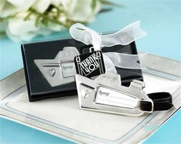 Wholesale wedding destinations online – design 100pcs wedding favor gift and giveaways for guest Destination Love Cruise Ship Luggage Tag party souvenir SN2319