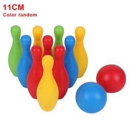 Kleinkind Spiele Bowling Spielzeug-Set Eltern Kind Funny Home Bunte Früh Lehre im Angebot