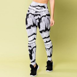 sports prints Australia - Women Printed Sports Yoga Pants Workout Gym Fitness Exercise Athletic Push Up Pants Yoga leggings Printed 2020 Leggings