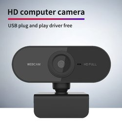 Wholesale PC Webcam Full HD 1080P USB Video Gamer Camera For Portatile laptop Computer Web cam built-in microphone For Youtube Web Camera
