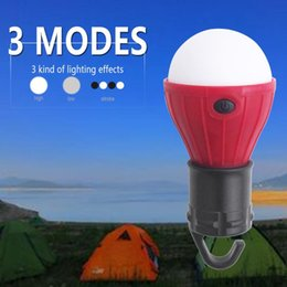 Discount led bulbs colours 4*Colour COB Work Inspection Handy Hook Magnetic Torch Camping Tent Lantern Waterproof Lamp For Car Repairing Fishing