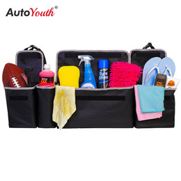 storage car trunk organizers Australia - Car Trunk Organizer Backseat Storage Bag High Capacity Multi-use Oxford Cloth Car Seat Back Organizers Interior Accessories CX200822