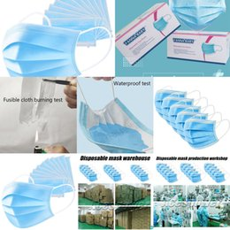 Three Face Layer Masks Daily 0P9J Disposable Anti Fog Dust-proof Personal Protective Mask In Stock ship via DHL