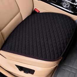 Luxury Car Seat Covers De Linho Preto 5-Bancos Assentos durável Protetor Universal