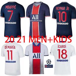 Wholesale neymar shorts for sale – designer 2021 Paris shirt away MBAPPE ICARDI Soccer Jerseys Men NEYMAR JR VERRATTI Soccer Shirts Customized Football uniforms SIZE XXL