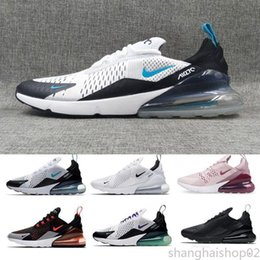 running shoes for sale UK - 2018 Hot sale Running shoes for Men women Photo Blue Liquid Metal Black Triple Black white Sports Mens Trainers Sneakers Shoes uk 36-45 s2