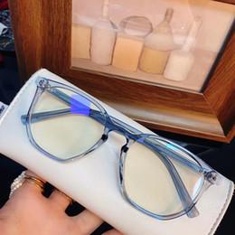 2020 Hotsale 8931 mujeres Anti-Bluelight GlassesFrame 51-19-142 UV400 Ligera tablón Rim de gafas de prescripción gafas de telefonía por ordenador en venta