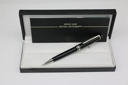 Qualitäts besten Edle Bleistifte schwarz Harz Silber trim Geschenk Wahl mit Seriennummern der Schule Bürobedarf Schreibwaren im Angebot