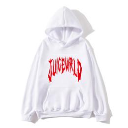 Wholesale hip hop songs online – design 2020Rapper Juice WRLD Emo trap Song quot Lucid Dreams quot Hip hop print Hooded sweatshirt Women Men Clothes Hot Sale Hoodies sweatshirt