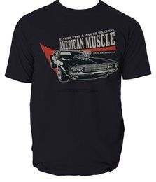 muscle cars NZ - American Muscle T-shirt sport car seven colours all sizes men t shirt