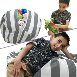 bean stuff toy UK - 18inch 55 Styles Kids Plush Toys Soft Cotton Clothes Storage Bean Bags Beanbag Tatami Leisure Bag Beanbag Bedroom Stuffed Storag Bag