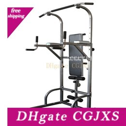 HW882 multifunzionale orizzontale interna Bar pull-up Push-Up building Apparato Parallele Muscle Training in Offerta