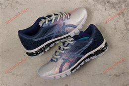 gel shoes run UK - high quality New Designers GEL-QUANTUM 180 4 cushioning Soft cushion Running Shoes For Real Quality Fashion Men shoes Sports Sneakers