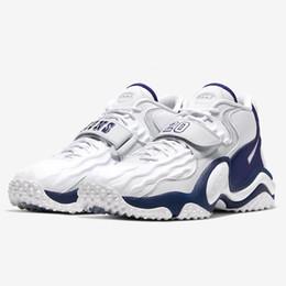 Опт Preps Special Увеличить Turf Jet 97 в честь Барри Сандерс мужского американского футбол обувь для продажи с коробкой кроссовок теннисного магазином обуви
