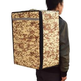 Ingrosso Designer- Lunch Bag 52L donne degli uomini di ghiaccio Valigia multifunzione alimento di picnic del dispositivo di raffreddamento scatola isolata Tote Bags contenitore di immagazzinaggio Zaino bagagli