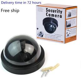 Falso câmera de vídeo simulado Segurança Vigilância Manequim IR LED Câmera Dome Signal Generator Papai Segurança Suprimentos WY766 em Promoção