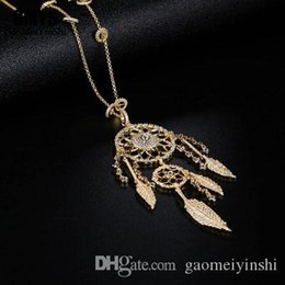 plates jewelry manufacturer UK - GAOMEIYINSHI 925 Pure Silver High-quality APM Jewelry Dream Catcher Necklace Gold-plated Free Mail Manufacturers Wholesale