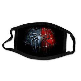 man united cartoons NZ - United Kingdom Hero Super Spiderman Facemask Hero Super Mask Face Super Man Facemask Designer Cartoon Spider Luxury sqcPE hairclippersshop