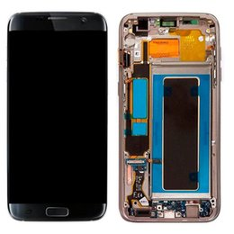s7 touch screen UK - cgjxsLcd Screen Display For Samsung Galaxy S7 Edge G935 G935a G935d G935f Digitizer Assembly Replacement Cell Phone Touch Panels Dhl Free