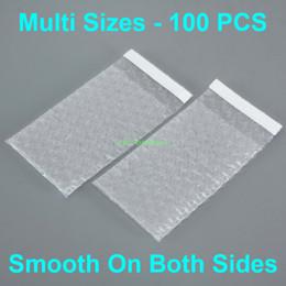 """Tamanhos multi 100 PCS Limpar bolha Bags Envelopes auto selo de embalagem (largura de 2,5"""" a 6,7"""" , 65 - 170 milímetros) x (Comprimento 3"""" a 8,7"""" polegadas, 80 - 220 milímetros) em Promoção"""