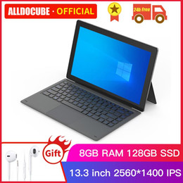 windows pro tablet pc Australia - Alldocube KNote X Pro 13.3 inch Gemini lake N4100 Windows 10 Quad Core Tablet PC 8GB RAM 128GB SSD 2560*1440IPS Tablets