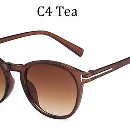 AOZE, 2020 novedad, gafas de sol redondas Tom, gafas de sol retro diseño experimental de moda, gafas de sol unisex de la calle para las mujeres, Elementos populares en venta