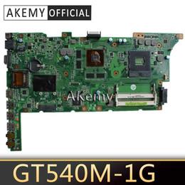 Akemy K73SV K73SD Laptop motherboard for ASUS K73SD K73S K73SV K73SJ Test original mainboard HM65 GT540M 1GB on Sale