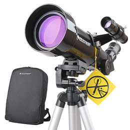 Wholesale Celestron PowerSeeker 70400 Astronomy Telescope Compact Portable Tripod Space Telescopic for Beginners   Student
