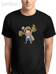 luffy clothing Australia - 2020 Summer Japan Anime One Piece Smiling Luffy Zoro T Shirt Male O-Neck Cartoon Tee Tops Men Casual Harajuku Men Tops Clothes