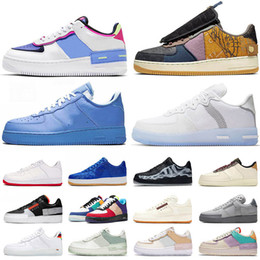 Wholesale fabrics for outdoor for sale - Group buy 2020 Shadow off Mca new arrival Cactus Jack React N354 running shoes for men women triple black MOMA Low mens trainers sports sneakers