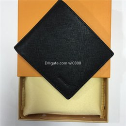 Wholesale high fashion dresses for sale – plus size Top High quality Lwallet Paris plaid style Designer mens wallet women wallet high end S designer animal G Wallets with box Free air mail