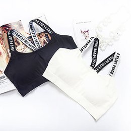 Wholesale thin elastic underwear for sale - Group buy Thin Black White Underwear Women s Bra Sexy Sleeve U Neck Lingerie Summer New Elastic Shoulder strap Backless Bralette Hot