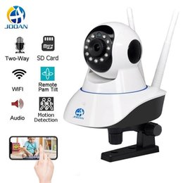 wi fi network camera NZ - cgjxsSurveillance Camera Wifi Camera Home Security Ip Camera Wireless Network Video Surveillance Wi -Fi Night Vision 720p 1080p Webcam T1907