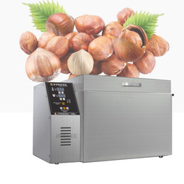 grain machines Australia - 2020 high quality electric Rotary drum Nut roaster seeds roaster machine grains dryer machine Chestnut roasting machine