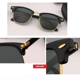 sun glasses full hd NZ - 2020 wholesale factory TOP quality Classic designer Sunglasses women men's HD Lens Driving club Sun Glasses UV400 master 51mm gafas sol