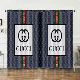 venda por atacado 3D impresso Designer cortinas cortina de luxo para sala de estar Cortina Novo Estilo Moda Tratamentos Quarto de cortina da janela Valance A10